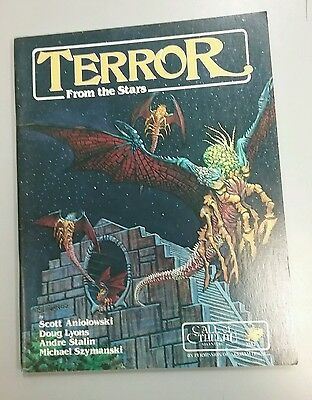 Call of Cthulhu Terror From The Stars RPG Book