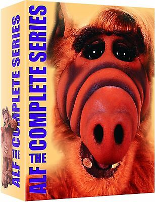 Alf Season 1 + 2 + 3 + 4 Complete Series Collection New DVD Region 1