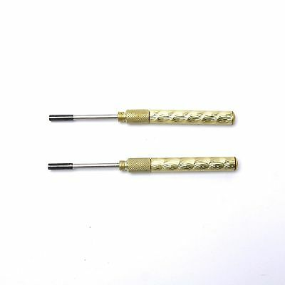 2-Pieces Wire Warp and Unwrap Driver Aluminum 19AWG 0.65mm 22AWG 0.9mm noovira