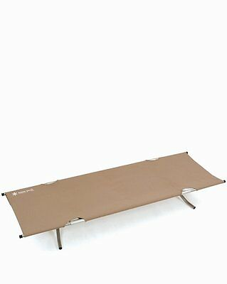 New Snow Peak Stretcher Camping Outdoor Sleeping Tension Cot