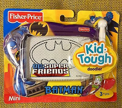 Fisher-Price DC Super Friends Batman Kid -Tough Doodler Mini magnetic drawing