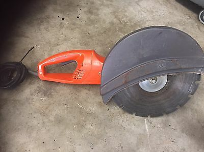 ELECTRIC Husqvarna Concrete Cut Off Saw K3000 Used