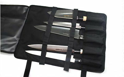 "5-Pocket 18.5"" Portable Knife Carry Case Bag Folded with a Grip NEW noovira"