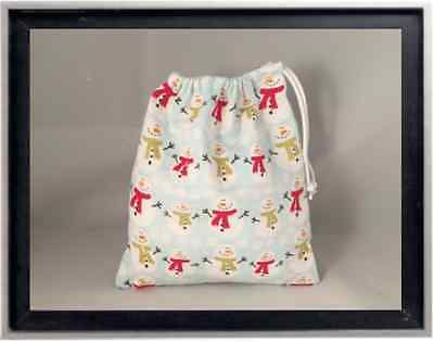 Gymnastics Leotard Grip Bags / Soft Snowmen Gymnast Birthday Goody Bag