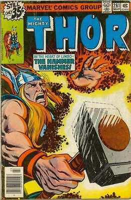Thor (1966 series) #281 in Very Fine condition. FREE bag/board
