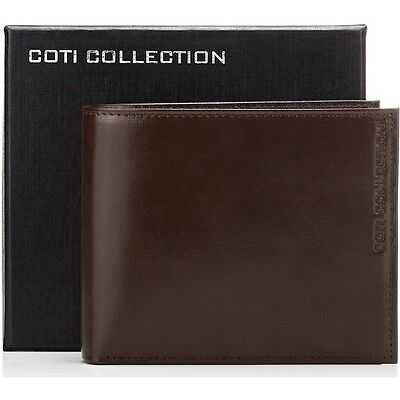 NEW Designer Coti Collection Genuine Leather Men's Wallet