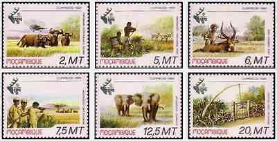 Timbres Animaux Mozambique 802/7 ** lot 16557
