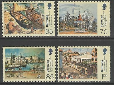 Bermuda 2001 Paintings MNH