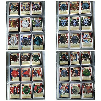 Lotto #10 Stock 36 Cards Mutant Chronicle Doomtrooper In Italiano
