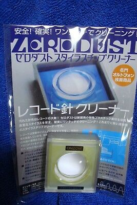 Stylus Cleaner Zerodust-Onzow Japan Most New Yellow Model Type Sealed