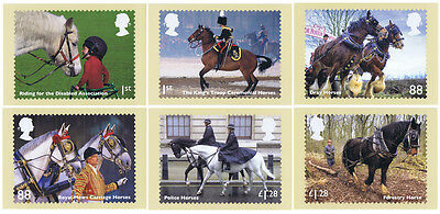 GB - Mint PHQ Cards - 2014 - Working Horses