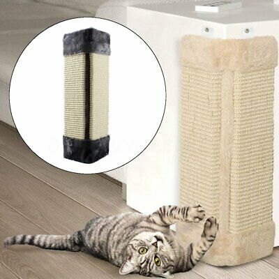 New Pet Cat Kitten Corner Wall Hanging Scratching Board Post Toys Mat Scratcher