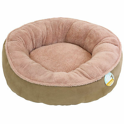 Me & My Super Soft Round Brown Donut Pet Bed Cat/kitten/dog/puppy Warm/snug/cosy