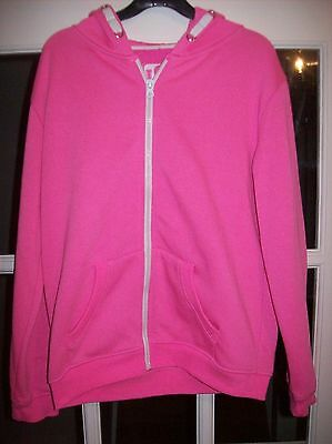 Yd-Girls Hooded Jacket-Age 11/12 Years-Very Good Condition