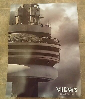 Drake -  Views From The 6 Hip Hop Collector's Promo Poster