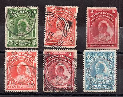 Niger Coast 1894 QV used collection WS2109