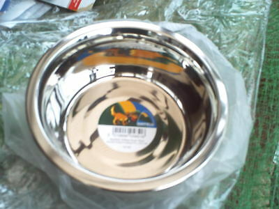 Bn Cat/small Dog Feeding Bowl 16Cm Dia X 6Cm Deep. Stainless Steel