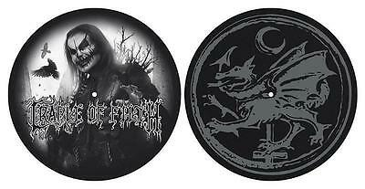 CRADLE OF FILTH DJ SLIPMAT FILZMATTE DANI FILTH LOGO - 2er SET