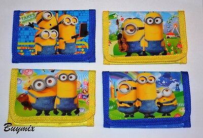 Minions Despicable Me Wallet Purse For Boys Girls Gift Stocking Party Bag Filler