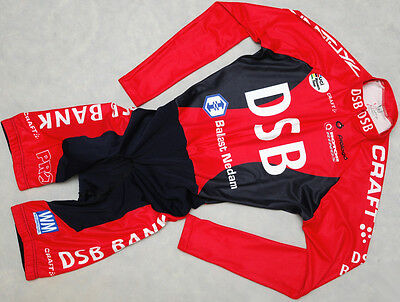 DSB BANK - CRAFT - genuine HIGH QUALITY cycling skin suit SKINSUIT - size M