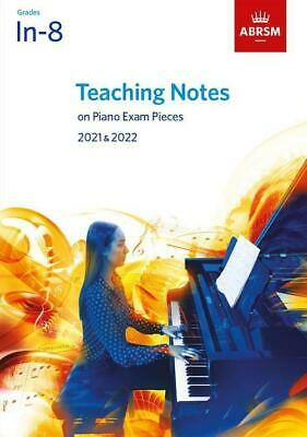 ABRSM Teaching Notes Piano Exam Pieces 2019 - 2020 Exam Music Learn Play Gift