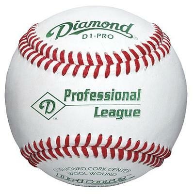 diamond 1187359 Diamond Sports D1-PRO Professional League Baseball by the Dozen