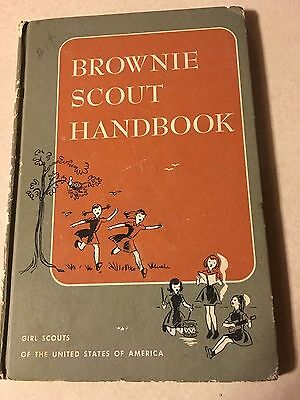 Vintage-Brownie Scout Handbook-Girl Scouts Of The United States Of America-1960