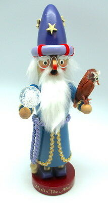 Original Steinbach Merlin The Magician Smoker Germany limited Edition