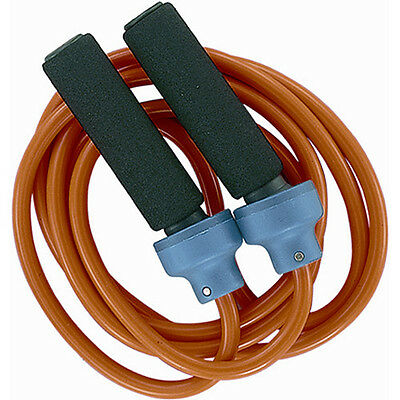 Champion Sports 2lb Weighted Jump Rope - Orange