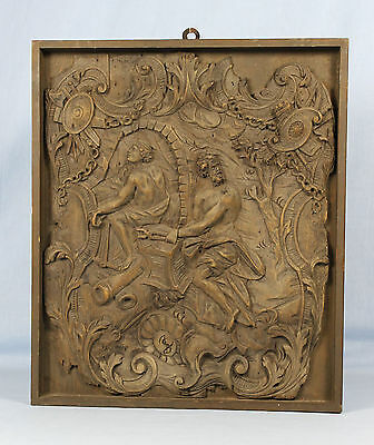 c1820 or earlier | fine relief WOOD carving | ex BISMARCK collection | sculpture
