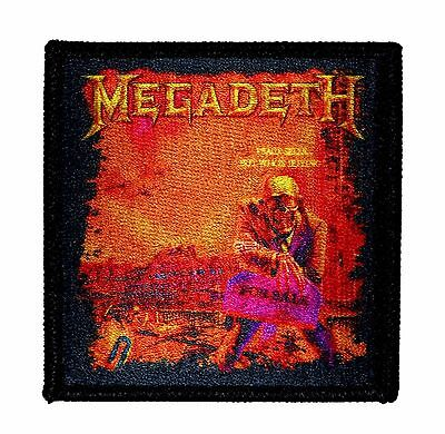 """""""Megadeth: Peace Sells But Who's Buying?"""" Metal Album Art Iron On Applique Patch"""
