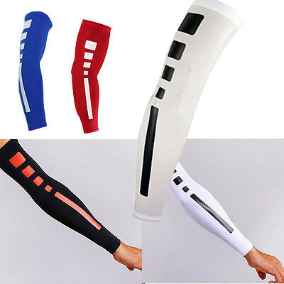 Basketball Shooting Cycling Compression Arm Sleeve Elbow Protector Pad Support
