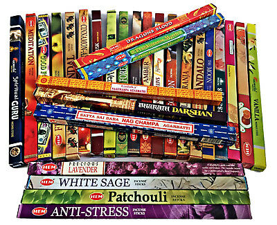 Hem SaIya Incense Sticks Aromatika Joss Export Range BUY 4 get 5 Free ADD 9