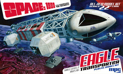 Mondbasis Alpha Space:1999 EAGLE Transporter 1:48 MPC Model Kit Bausatz MPC825