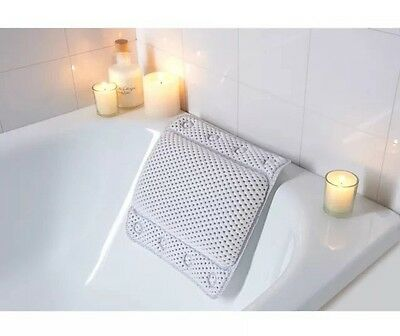 Relaxing Cushioned Bath Pillow - Bathroom Comforts Fast Uk Postage