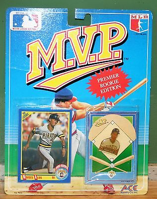 MVP Premier Rookie Baseball Collector Card Pins Series  Moises Alou 1990 BNOC