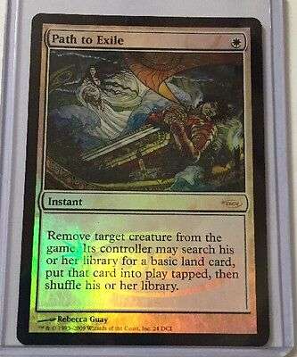 Magic the Gathering Path to Exile Foil DCI Rare Mint