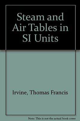 Used (Gd) Steam Air Tables Si Units Pb