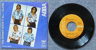 """ABBA - The Winner Takes It All - 7"""" Single - Mexico"""