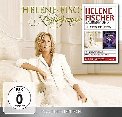 Helene Fischer - Zaubermond (Platin Edition-Limited)   Cd+Dvd New+
