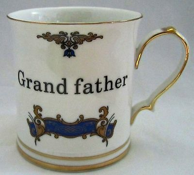 Mens Grandfather Grand Father China Mug Cup Tankard Royal Devonshire  REG POST