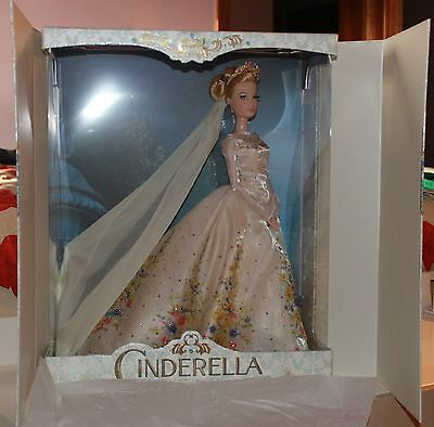 "DISNEY STORE Wedding Cinderella limited edition doll LE 17"" bambola Cenerentola"
