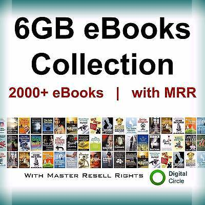 6GB eBooks Package Collection PDF Format+free shiping