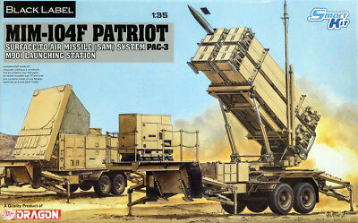 MIM-104F Patriot SAM System PAC-3 M901 Launching 1:35 Model Kit Dragon 3563