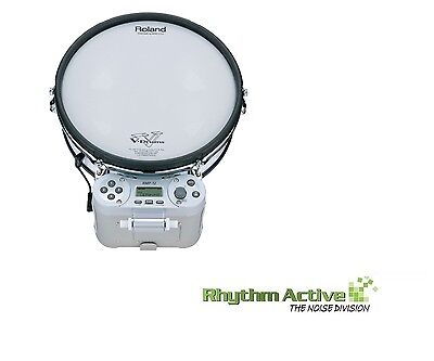 Roland Rmp-12 Electronic Percussion Marching Drum/rhythm Coach V-Drums Pad