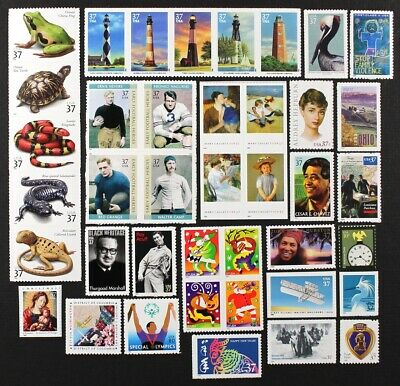 US 2003 Commemorative Year Set, 60 diff. stamps incl. sheets Mint NH, see scans