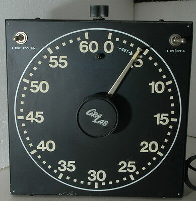 used GraLab model 400 Auto Repeating Darkroom Timer up to 60 seconds