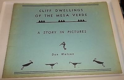 CLIFF DWELLINGS of the MESA VERDE Don Watson 1961 National Park Colorado