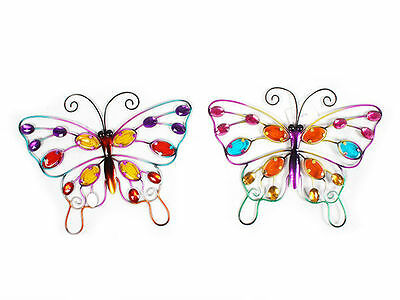 12 garden décor butterfly wall art 25x1x30.5cm bulk wholesale lot