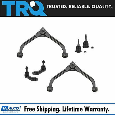 TRQ 6 Piece Kit Control Arm Ball Joint Tie Rod End LH RH  for 06-07 Liberty New